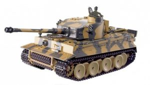 RC tanky GERMAN TIGER 1/24 - airsoft tank - zelený