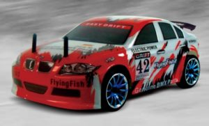 RC auta BMW DRIFT - Flying fish 2, HSP, 1/16, RTR